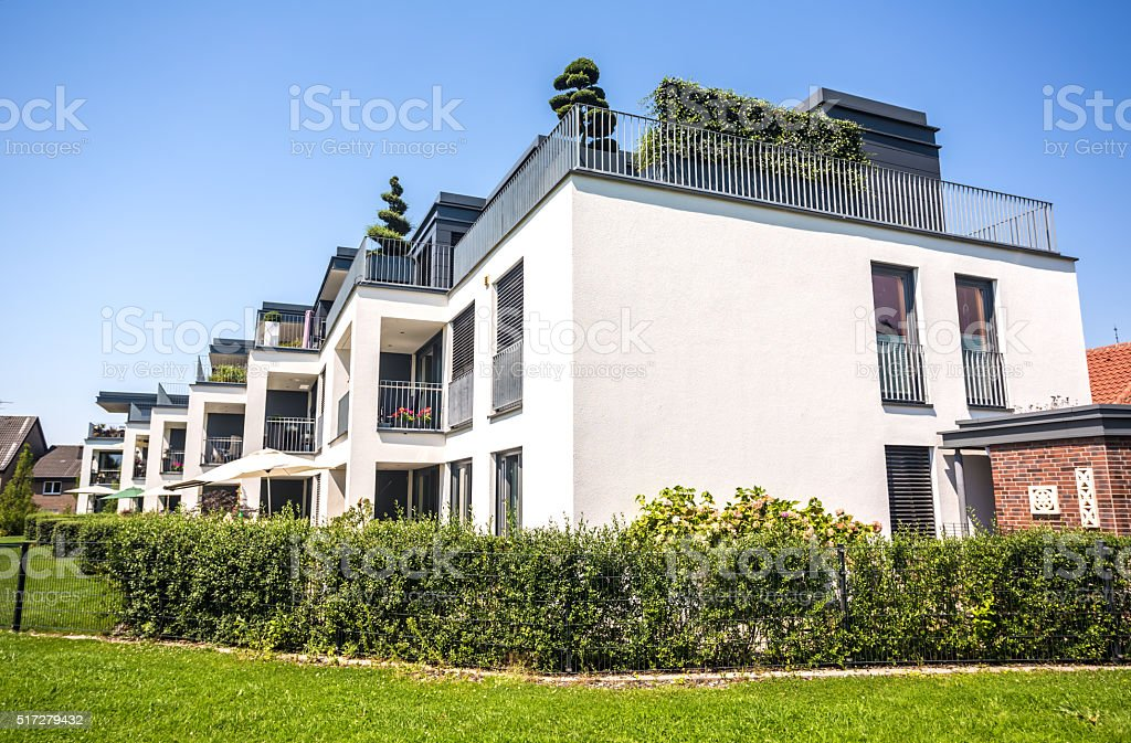 New Apartments stock photo