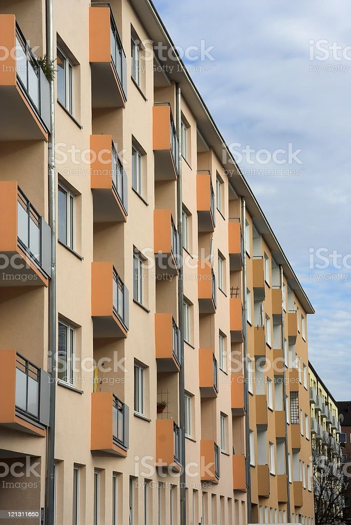 New appartment building royalty-free stock photo