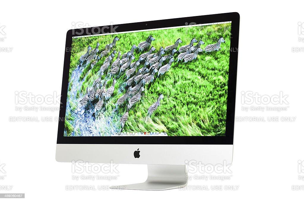 New Apple iMac stock photo