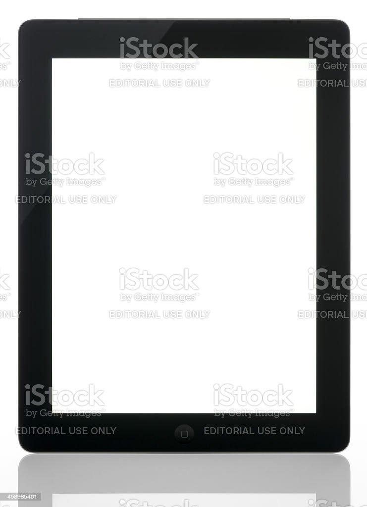New Apple iPad royalty-free stock photo