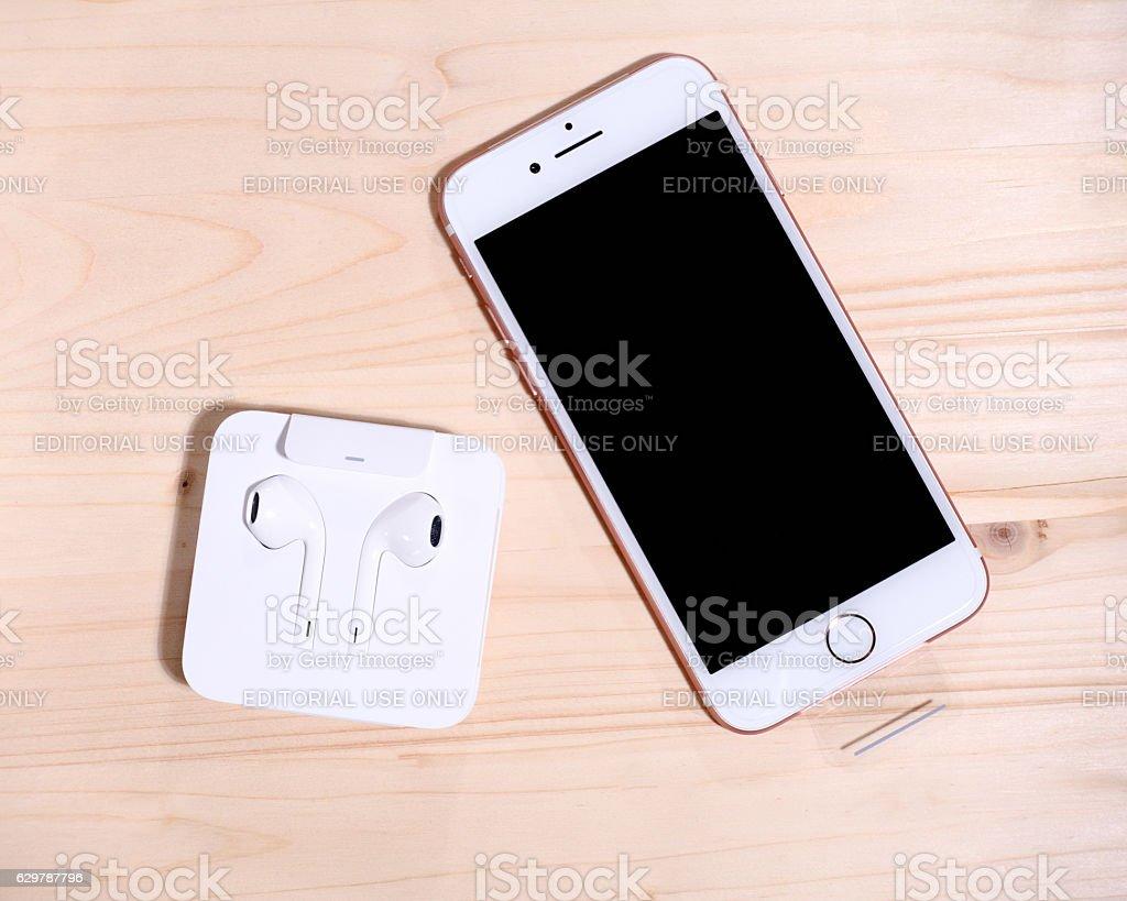 New Apple iPhone 7 stock photo