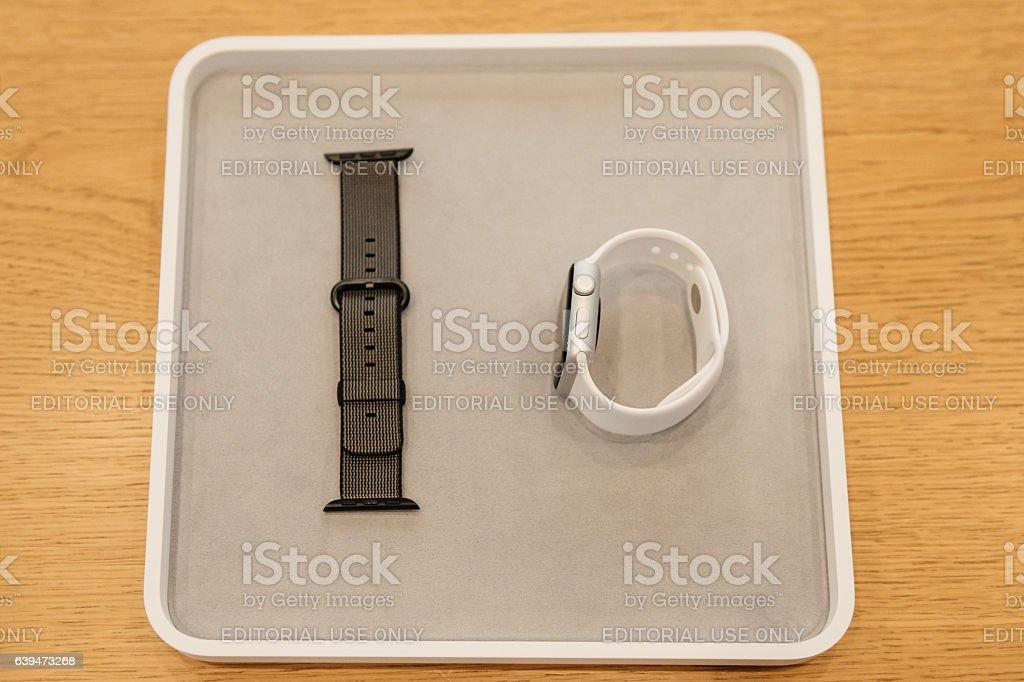New Apple Watch series 2 stock photo
