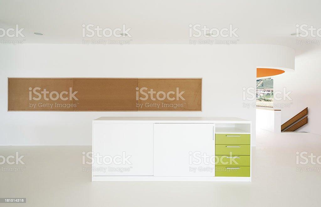 new architecture, interior royalty-free stock photo