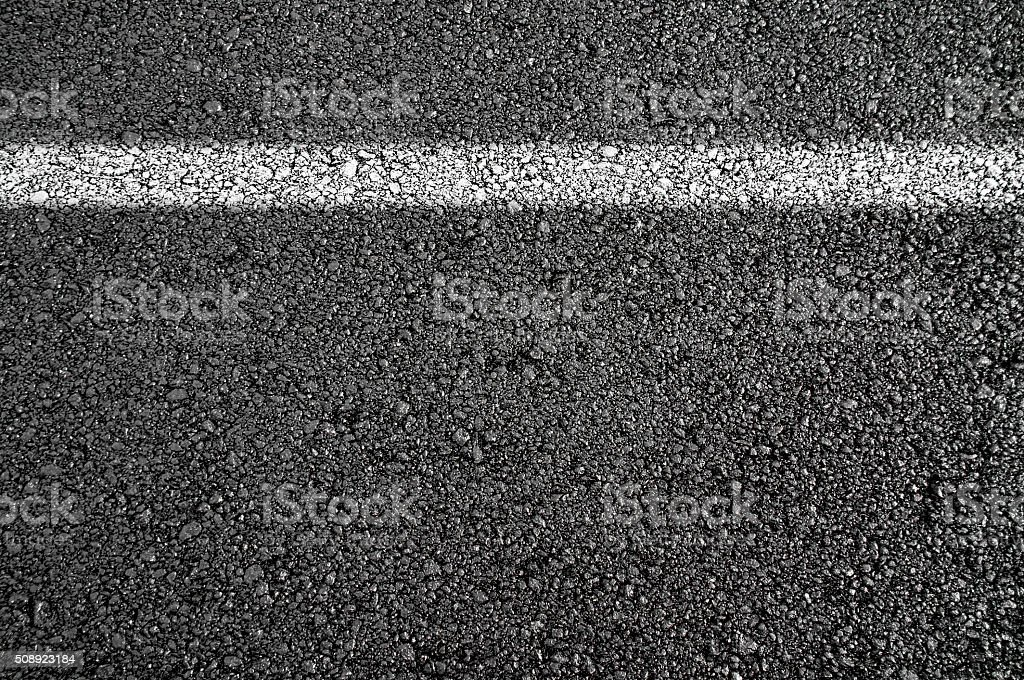 New asphalt stock photo