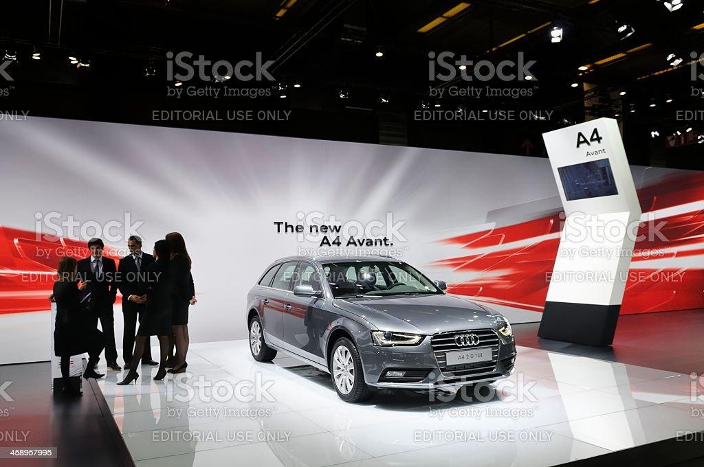 New Audi A4 Avant stock photo