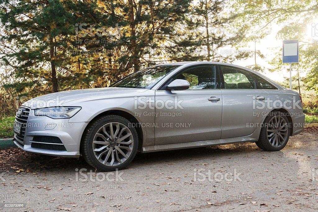 New Audi A6. stock photo
