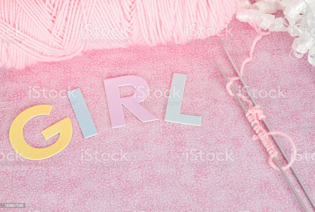 New Baby Objects royalty-free stock photo