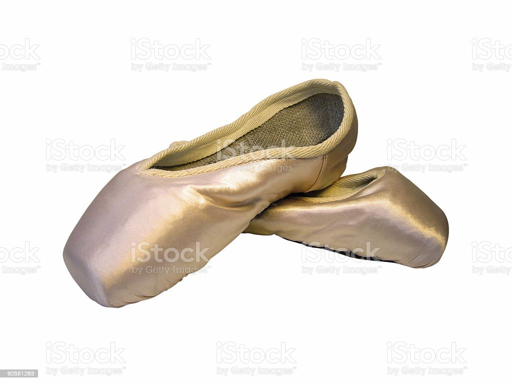 New Ballet Shoes royalty-free stock photo