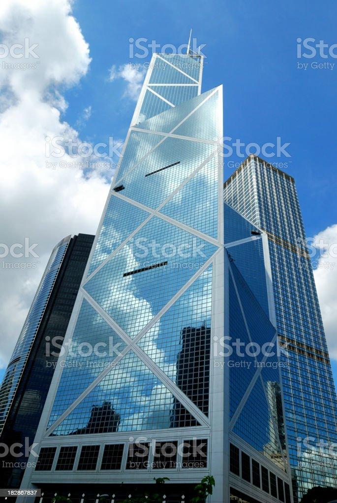 New Bank of China Hong Kong stock photo