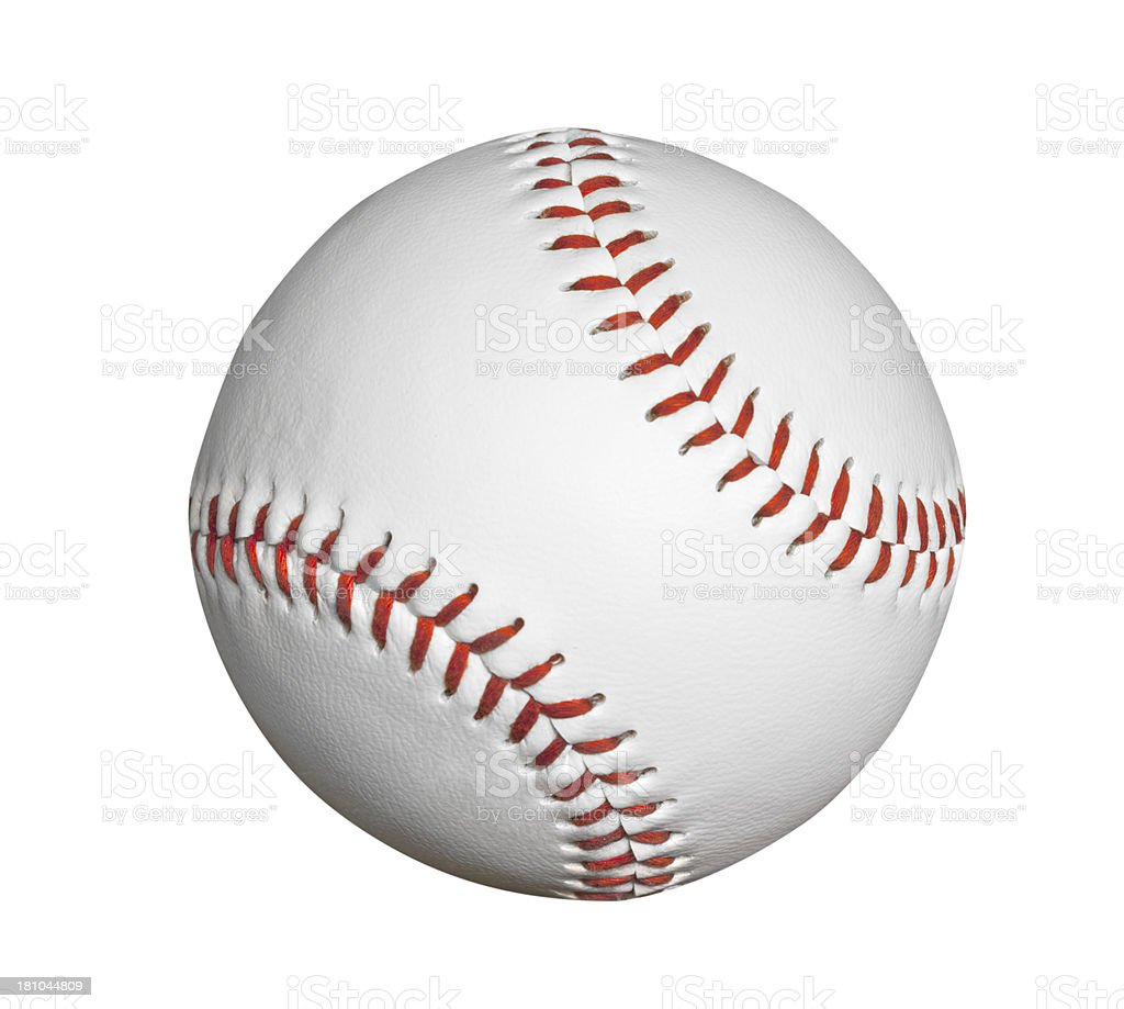 New Baseball Isolated stock photo
