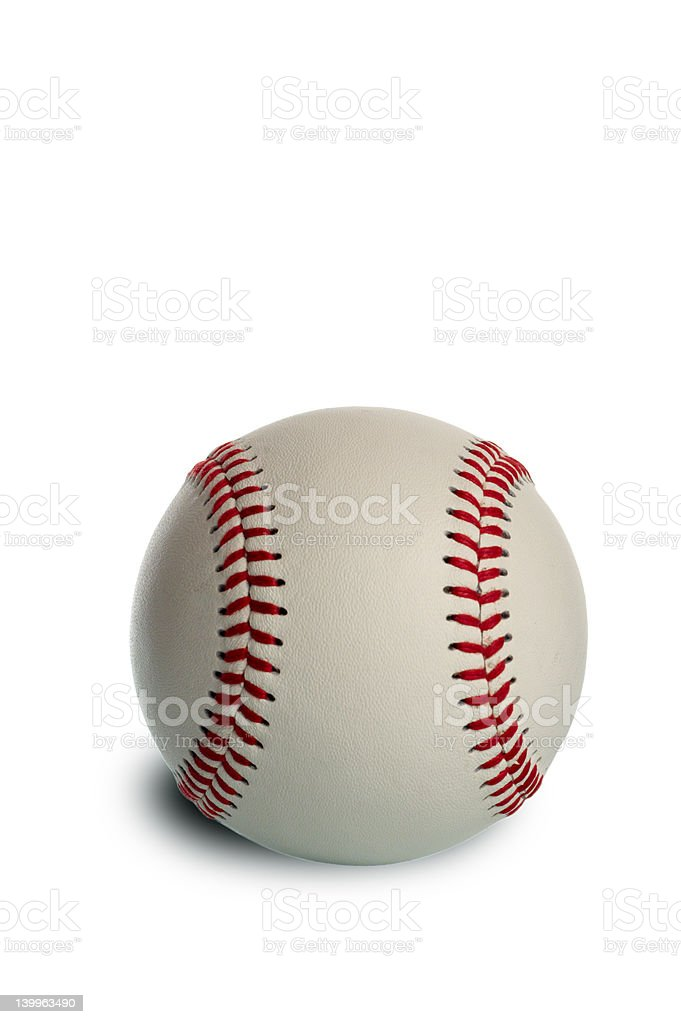 New baseball stock photo