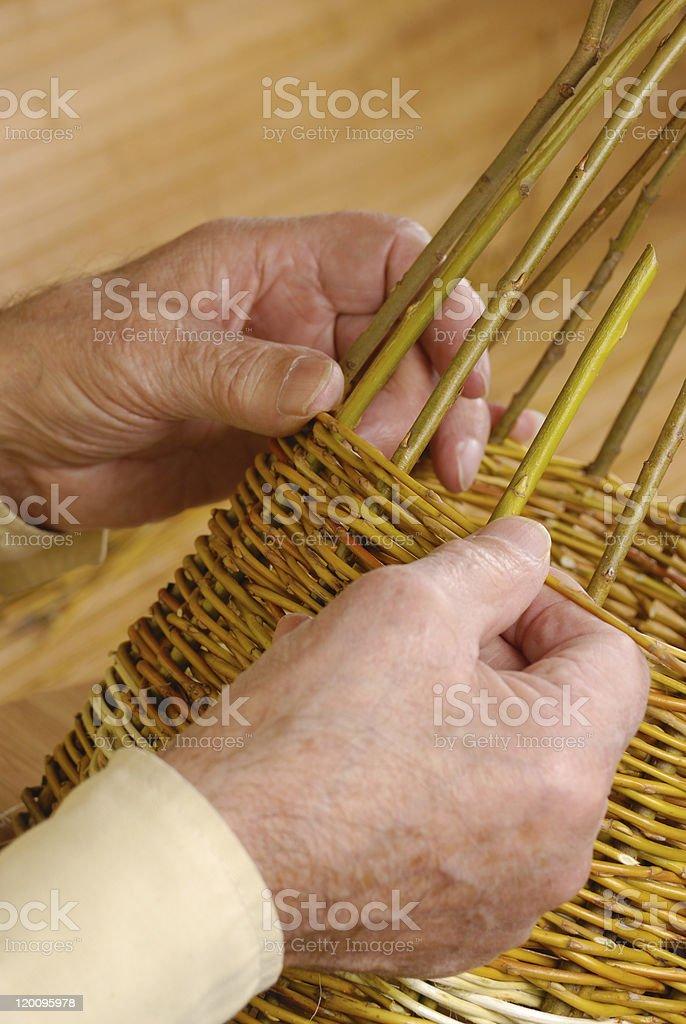 New basket royalty-free stock photo