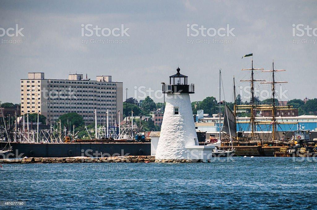 New Bedford Harbor stock photo