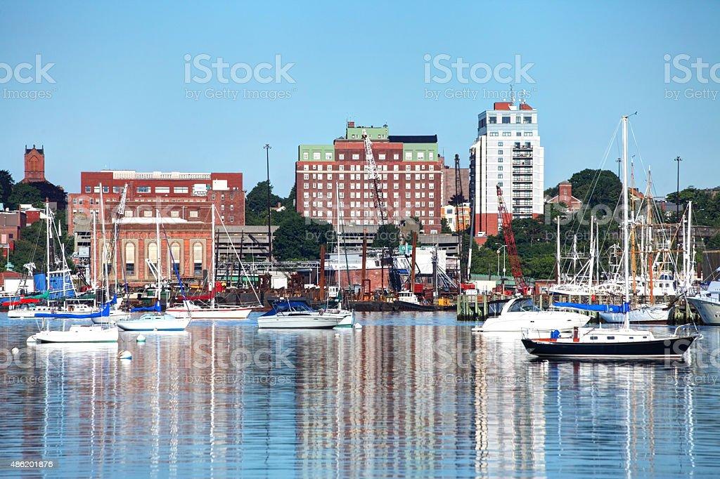 New Bedford, Massachusetts stock photo