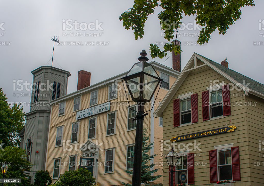 New Bedford Whaling National Historical Park stock photo