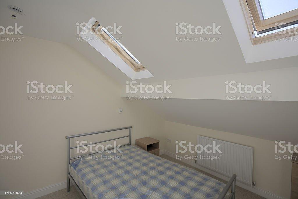 New Bedroom in Refurbished Rental Property-More Below royalty-free stock photo