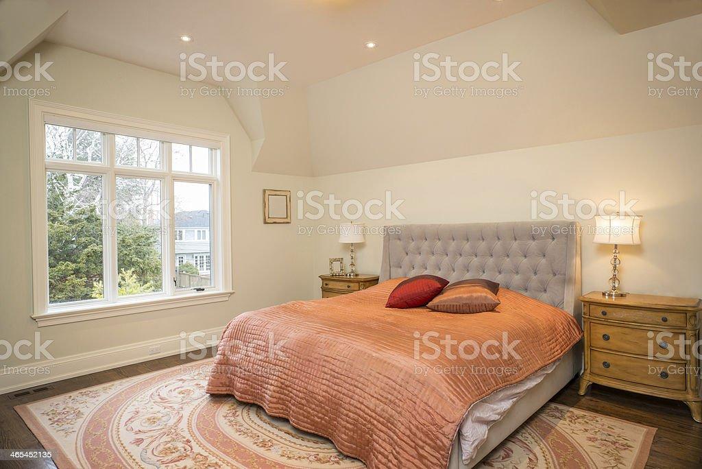 New bedroom royalty-free stock photo