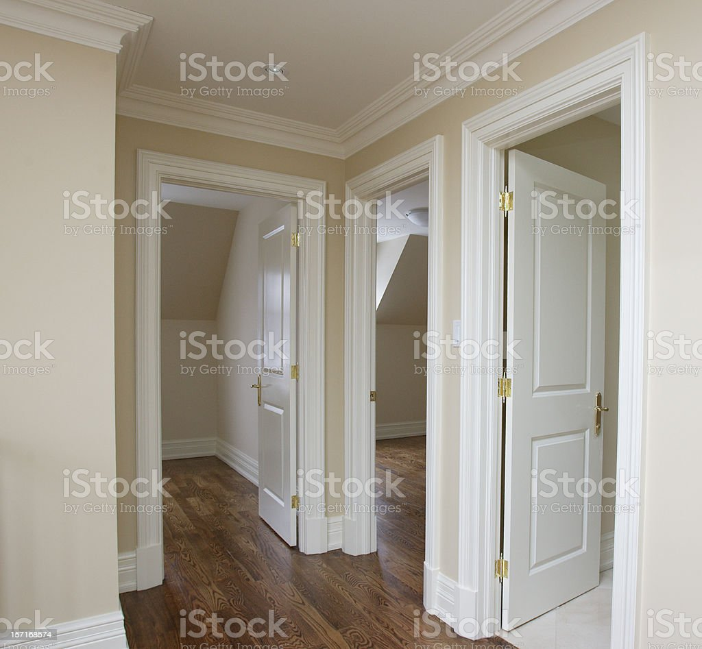 New Bedrooms royalty-free stock photo