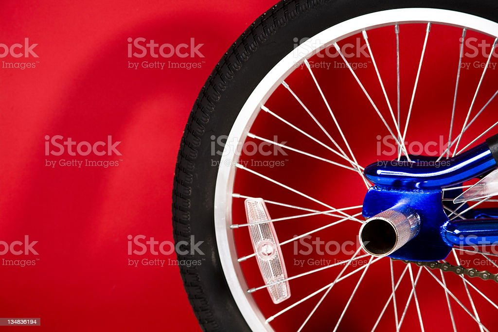 New bicycle royalty-free stock photo