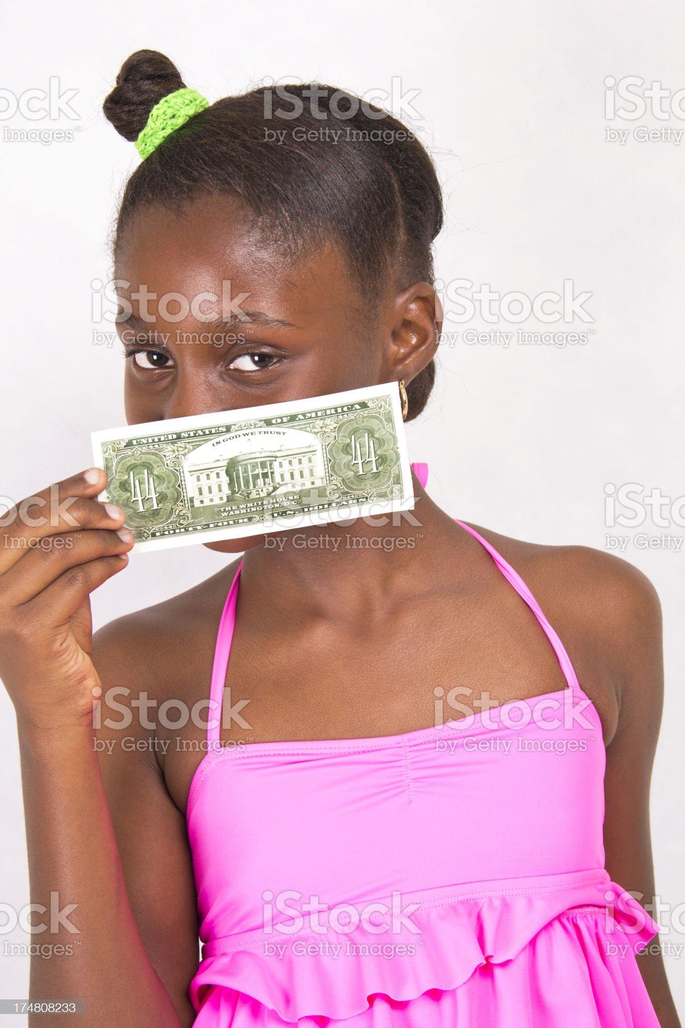 New Bill royalty-free stock photo