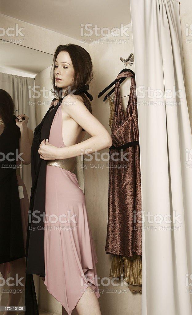 New Black Dress royalty-free stock photo