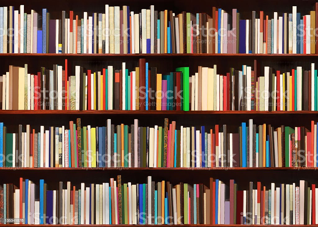 New books - big file royalty-free stock photo