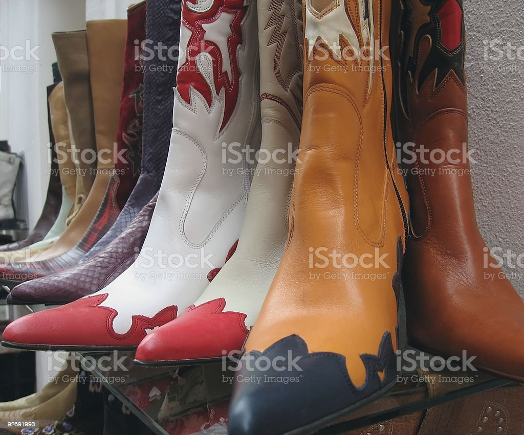 New Boots royalty-free stock photo