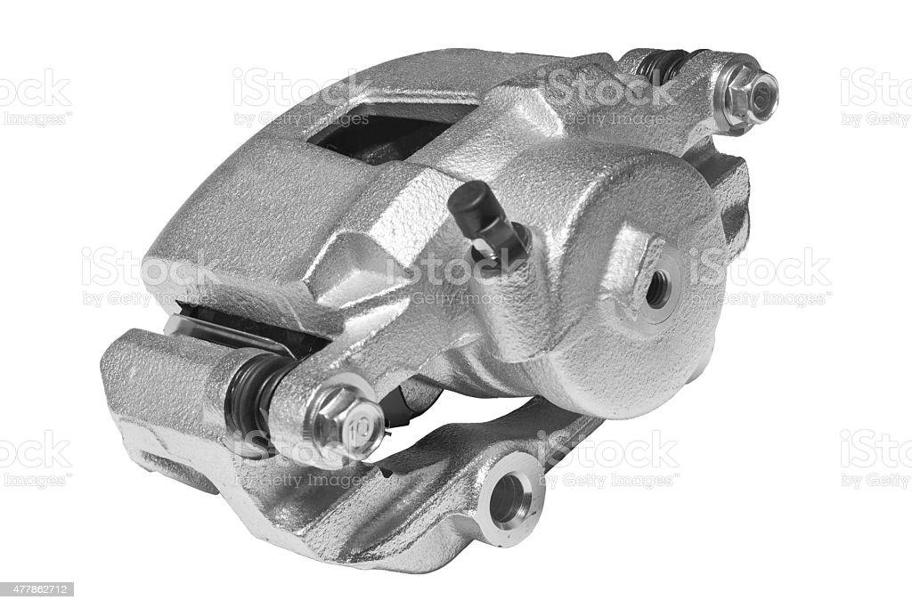 New Brake Caliper stock photo