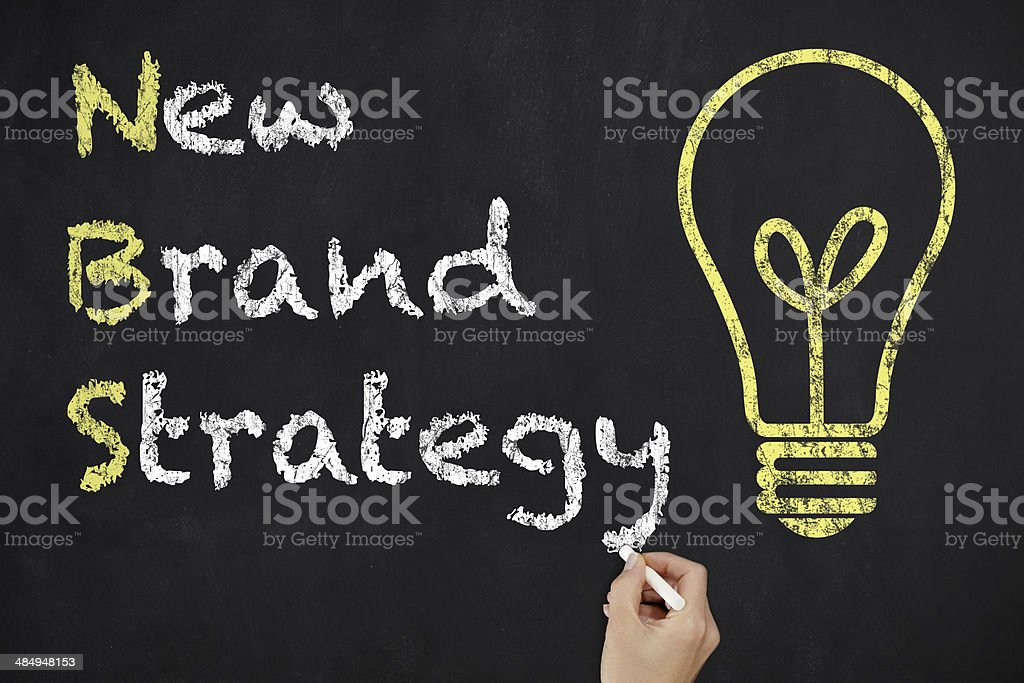 New Brand Strategy royalty-free stock photo