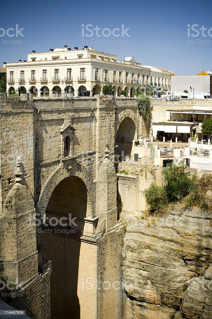 Puente Nuevo in Ronda royalty-free stock photo