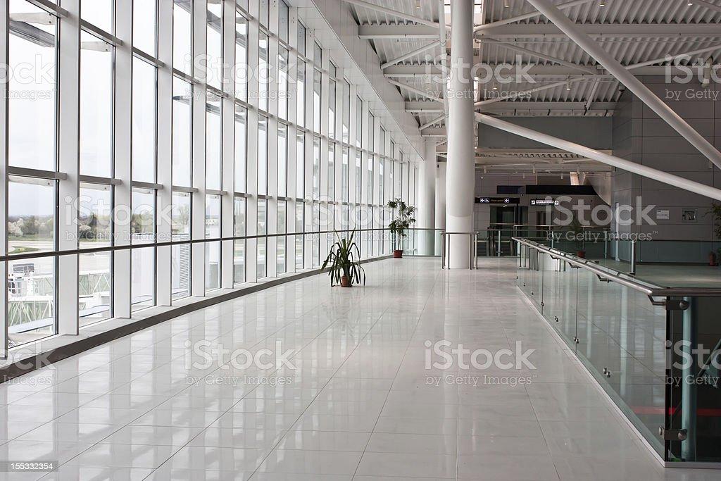 New Bucharest Airport - 2011 stock photo