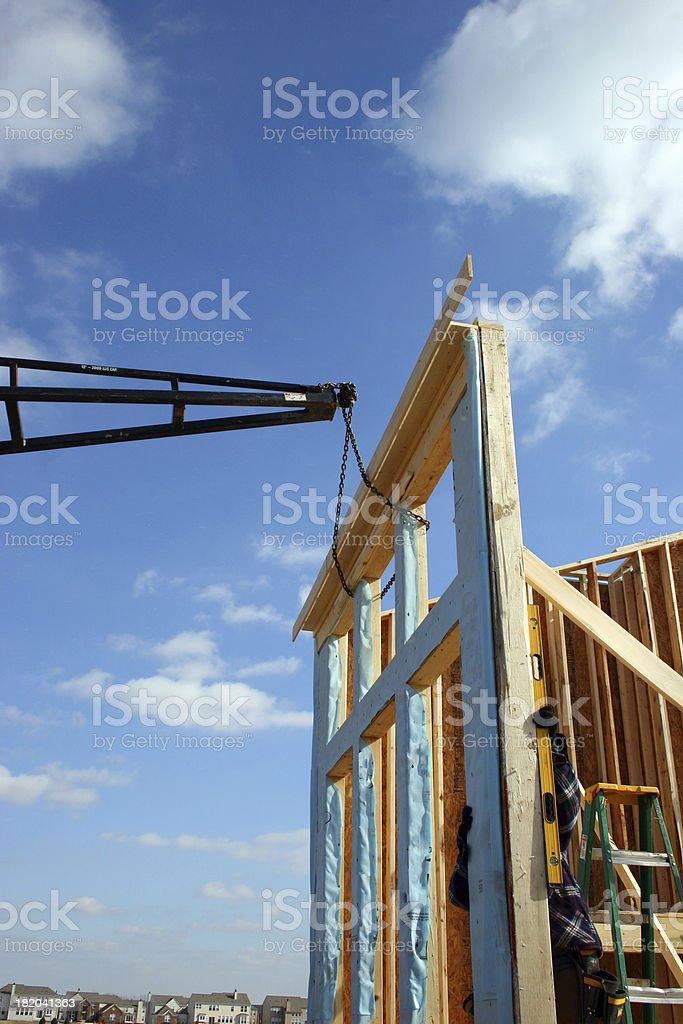 New Build royalty-free stock photo