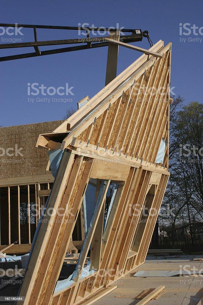 New Build stock photo