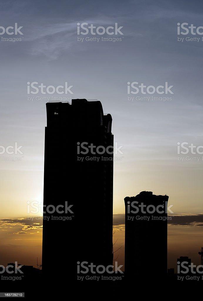 New Building Condominium Construction royalty-free stock photo