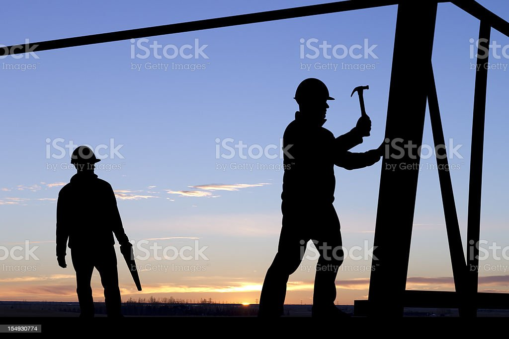 New Building Construction royalty-free stock photo
