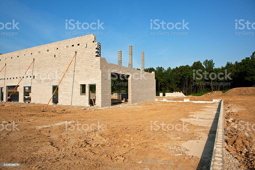 New Building Construction stock photo
