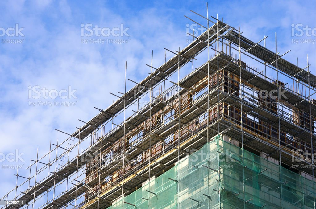 New building royalty-free stock photo