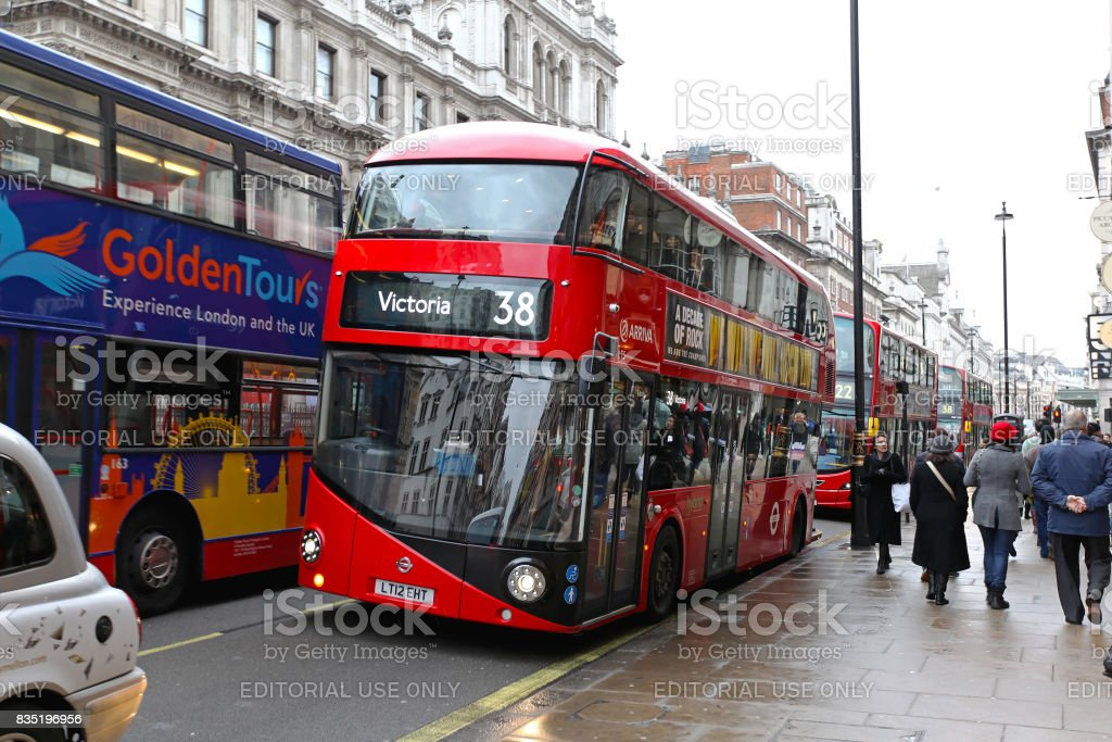 New Bus for London stock photo