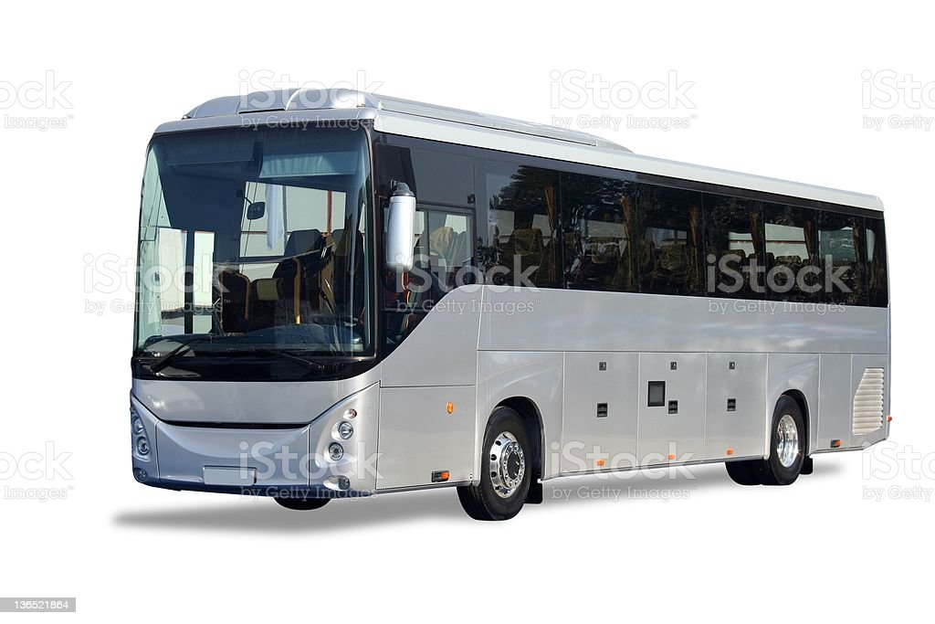 New bus royalty-free stock photo