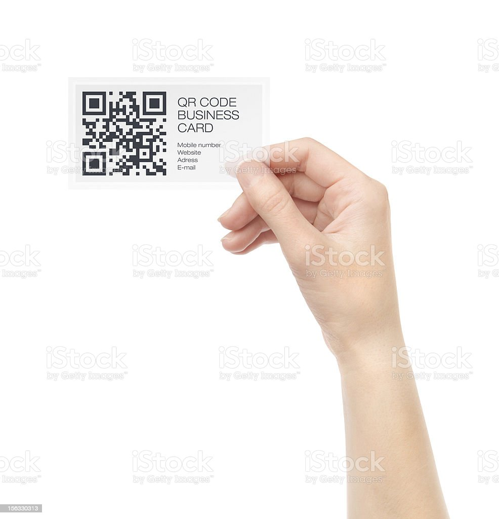 New Business Card royalty-free stock photo