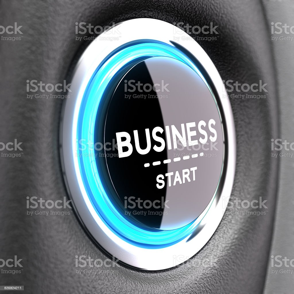 New Business Concept - Entrepreneurship stock photo