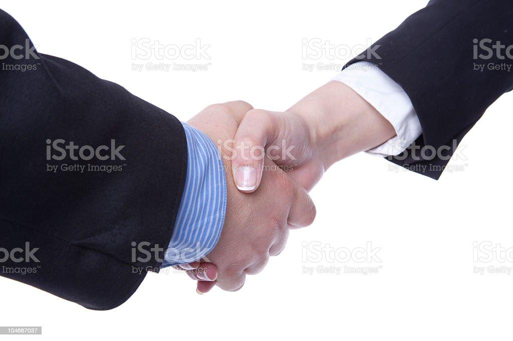 New Business Handshake stock photo