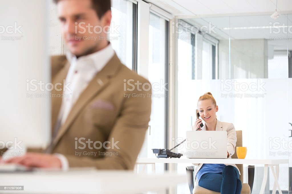 New Business Office stock photo