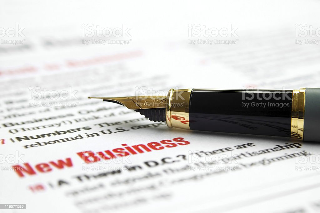 New business royalty-free stock photo