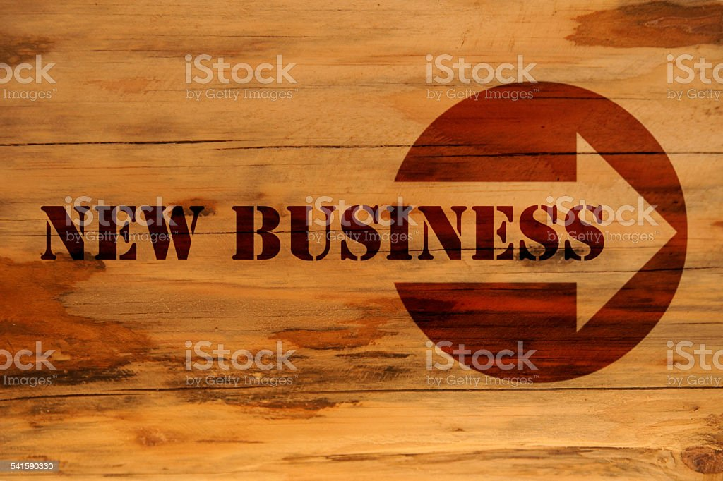 new business stock photo