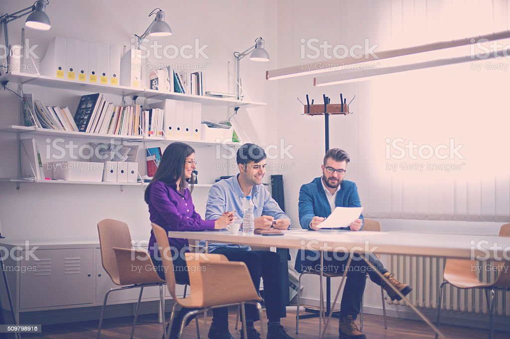 New business plan stock photo