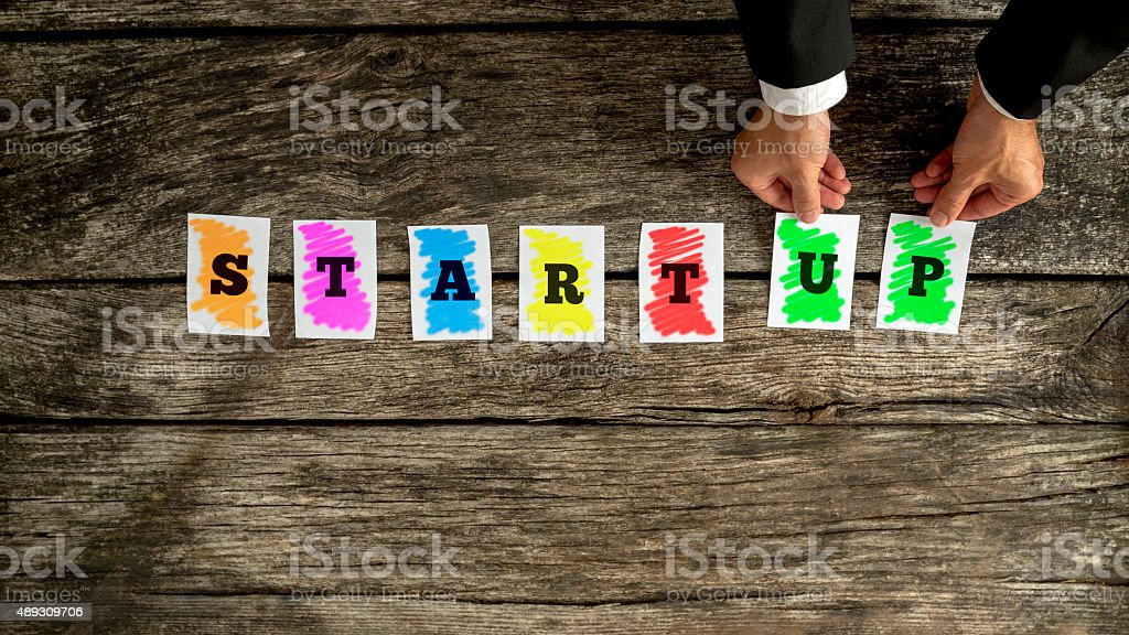 New business startup concept stock photo