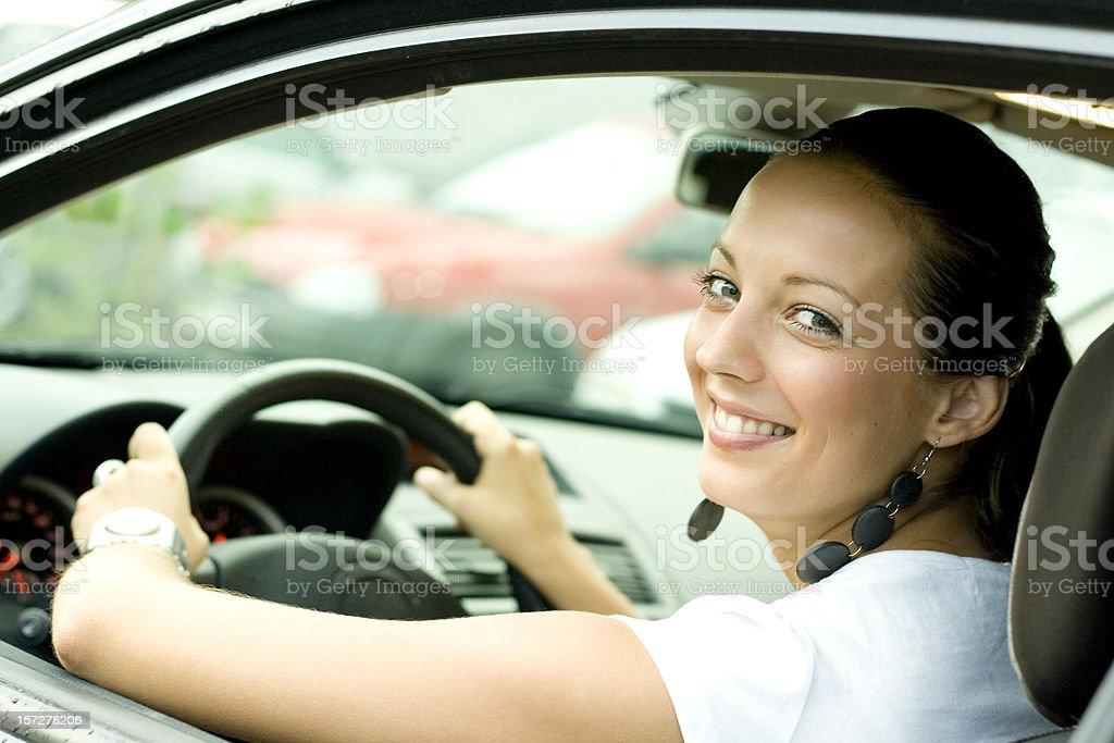 New car driver royalty-free stock photo