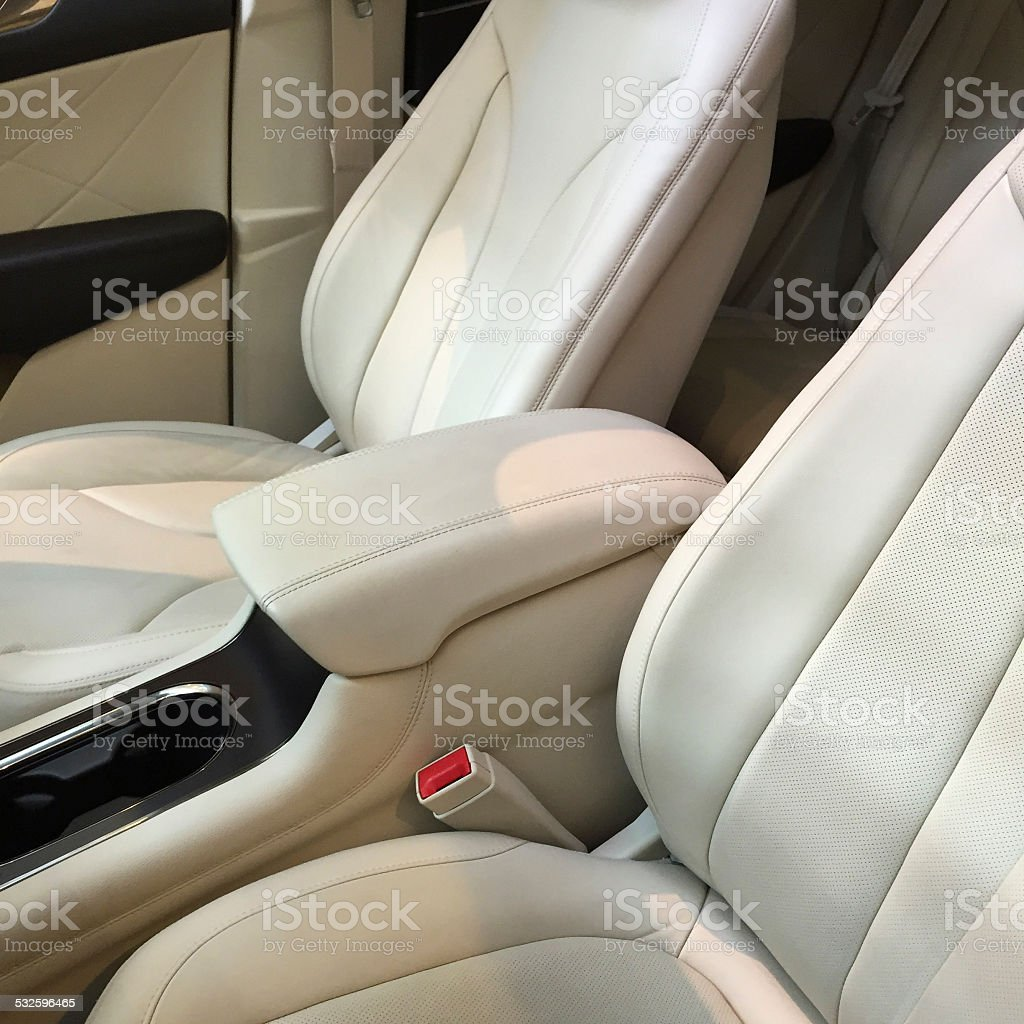 New Car Interior stock photo