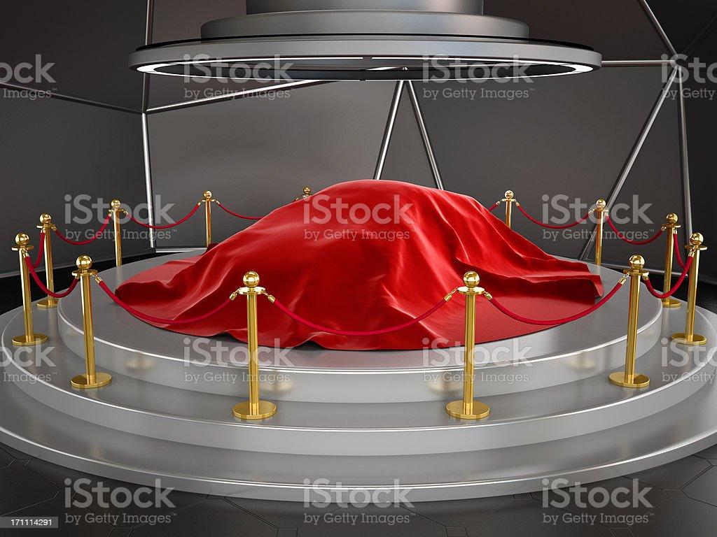 New car model exhibition royalty-free stock photo